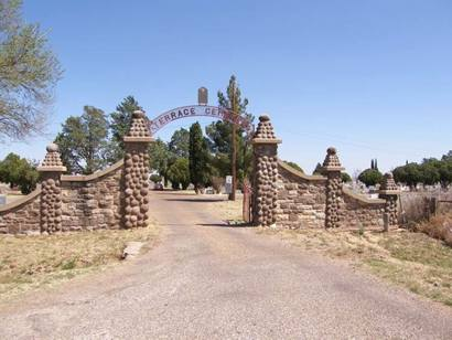 Post Tx - Terrace Cemetery Entry