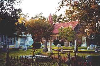 Scottsville Texas Cemetery and Chapel