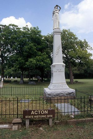 Acton State Historic Site  Elizabeth Crockett Monument , Granbury, Texas