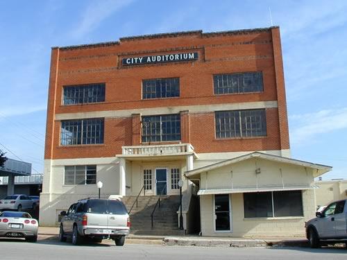 City Auditorium Bowie Texas