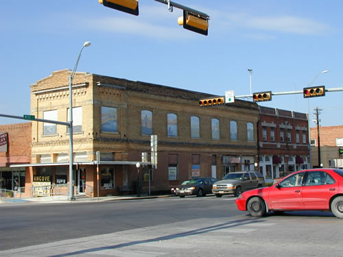 Downtown Bowie Texas