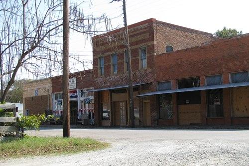 Collinsville texas street scene