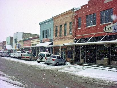 Texas snow pictures for Downtown motors beaumont texas