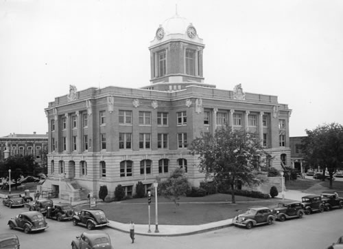 Gainesville Texas history, attractions, landmarks, photos