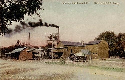 Gainesville Texas history, attractions, landmarks, photos