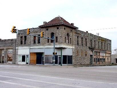 Jacksboro Texas Rock Building