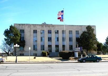 Jack County Courthouse Jacksboro Texas