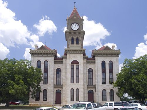 Bosque County Courthouse Meridian Texas