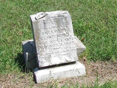 Merit TX - Merit Cemetery tombstone.