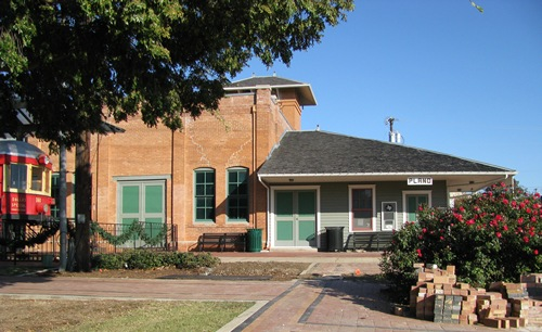 Plano Texas Electric Railway Station