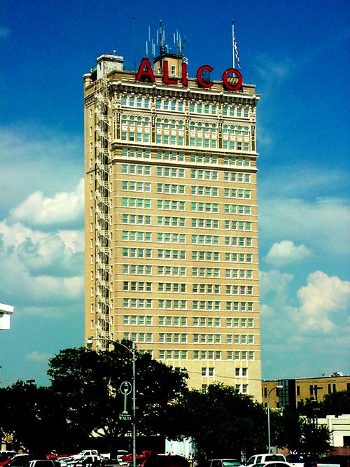 The Alico Building Of Waco Texas