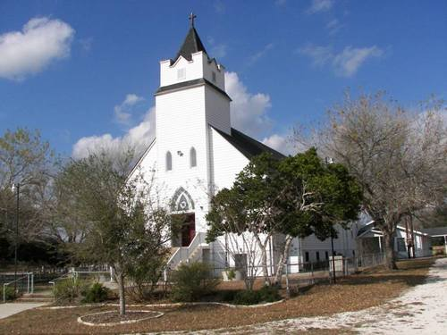 Church in Arneckeville Texas