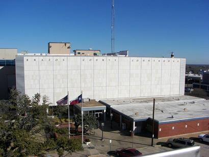 Brazos County courthouse, Bryan Texas