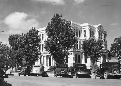 Cameron Texas, Milam County Courthouse 1939