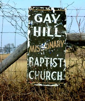 gay hill texas