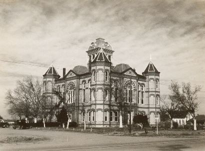 1894 waller County Courthouse, Hempstead TX  old photo