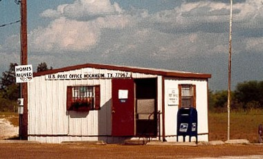 US Post Office in Hochheim Texas