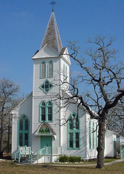 Saints Peter and Paul's church in Kovar, Texas