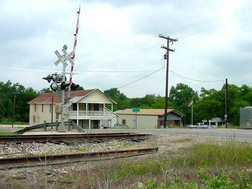 Plantersville Texas Railroad Tracks