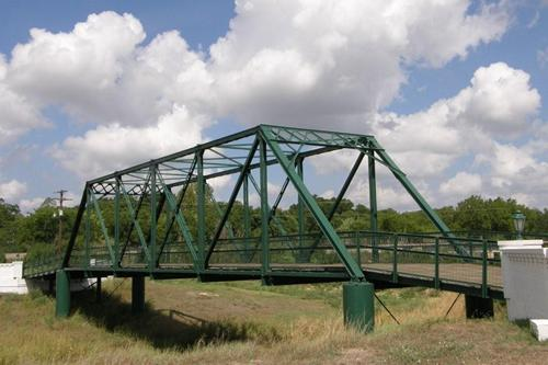 Shiner Texas bridge over Boggy Creek
