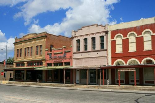 Shiner Texas main street