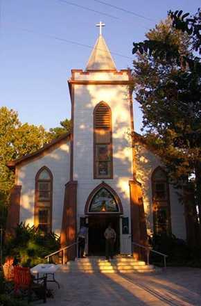 St Mary S Catholic Church Painted Plantersville Texas