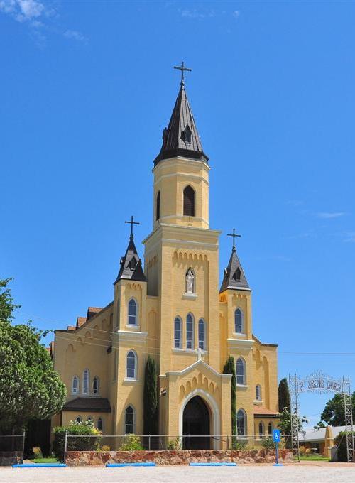 St  Joseph's Catholic Church, Rhineland, Texas