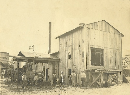 Forestburg, TX - Ly Kurgis William's Cotton Gin