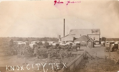 Knox City, Texas cotton Gin