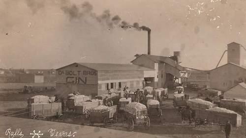 Ralls Texas Cotton Gin