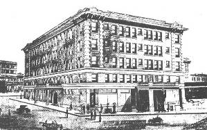 Old Postcard Drawing Of The Redlands