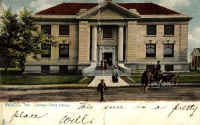 Carnegie library in Waco (46788 bytes)