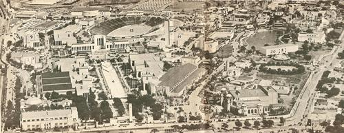 1936 Texas  Centennial  Exposition  in Dallas aerial photo