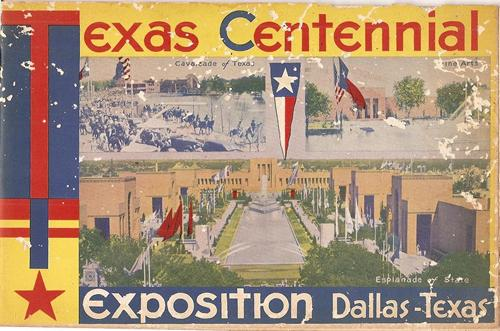 1936 Dallas Exposition Centennial Brochure