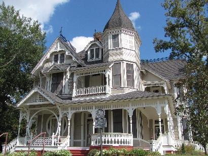 Downes Aldrich Haunted House Crockett Tx