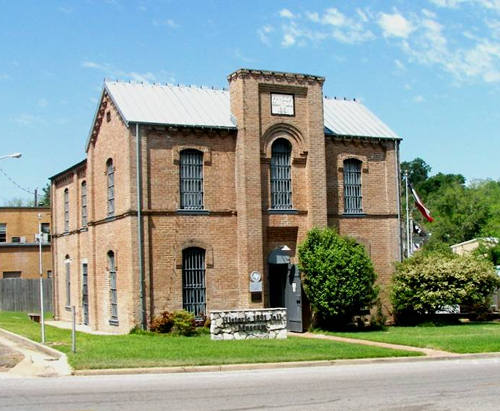 Former Panola County Jail, Panola County Historical Museum, Carthage Texas