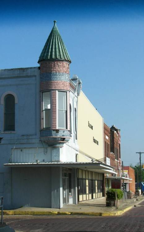 Corner Building With Cupola Clarksville Tx