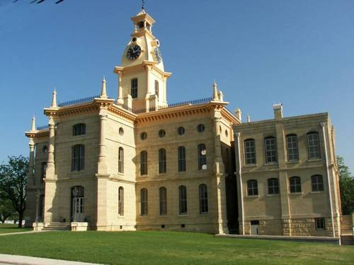 Red River County Courthouse Clarksville Texas