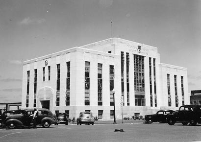 Houston County Courthouse Crockett Texas