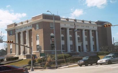 Polk County courthouse Livingston Texas