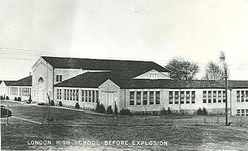New London High School before explosion