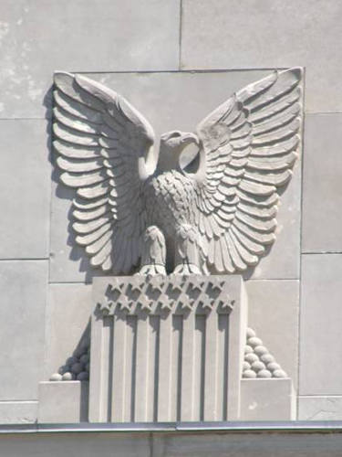 Texarkana - US Post Office and Courthouse  eagle