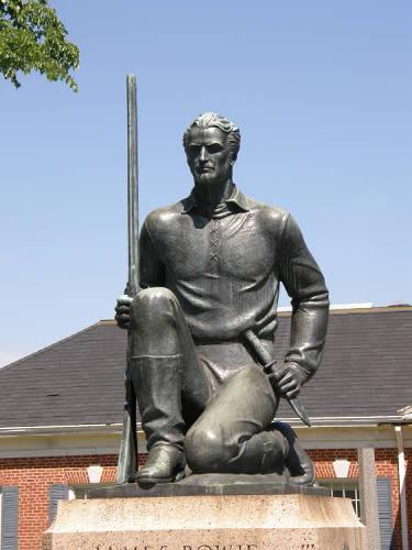 Texarkana Tx - James Bowie Centennial Statue