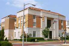 Federal courthouse in Tyler, Texas