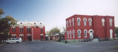 Brewster County  courthouse and former jail, Alpine, Texas