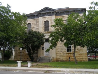 Burnet TX - 1884 Burnet County Jail