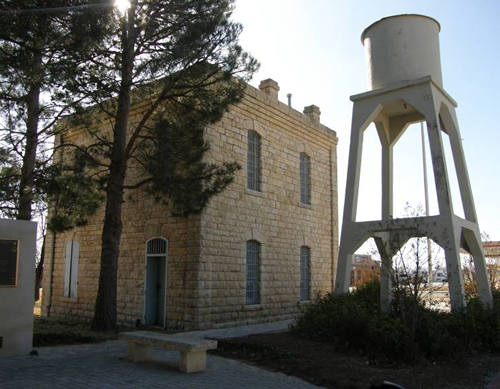 Garden City Tx, Glasscock County Jail and Water Tower