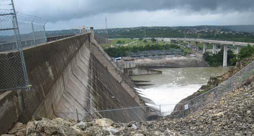 Highland Lakes Dams Texas