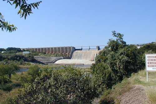 Possum Kingdom dam, Texas