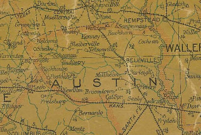 Towns In Austin County Texas